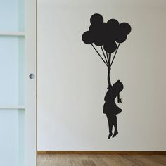 Balloon Girl | Banksy Wall Decals | WallsNeedLove