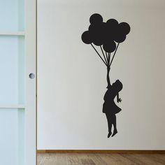 Balloon Girl   Banksy Wall Decals   WallsNeedLove