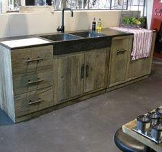 meubles de cuisine indépendant et ilot Maison du Monde   Kitchens ...
