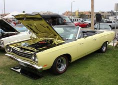 The Working Man's Muscle Car. 1969 Plymouth Road Runner Ragtop. | Flickr - Photo Sharing!