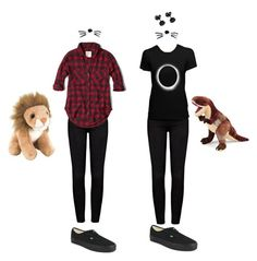 """Get the look: Dan and Phil cosplay-Amy"" by superwholockicons13 ❤ liked on Polyvore"