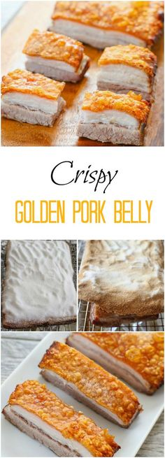 Crispy Golden Pork Belly. Easier to make than you may think!