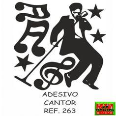 Painel Decorativo Grande Adesivo Festa Retrô Anos 60 70 e 80, Cantor, Casal Dançando, Dançarina e Dançarino Black - 50x70 Escolha o Modelo  - foto 2