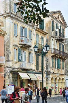this is Corfu - Evgeni Voulgareous Corfu Town, Corfu Island, Corfu Greece, Before I Die, Beautiful Places, Street View, Type 3, Theater, Facebook