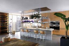 """kitchen Arclinea- modelli- """"Lignum et Lapis-2"""""""