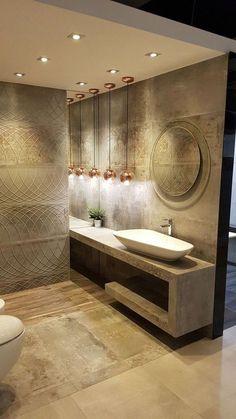 31 Contemporary Home Decor To Inspire bathroom bathroomdesign baños lavabo 718887159248552653 Bathroom Design Luxury, Modern Bathroom, Small Bathroom, Master Bathroom, Bathroom Ideas, Shower Ideas, Attic Bathroom, Italian Bathroom, Washroom Design