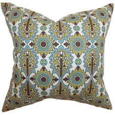 The Pillow Collection Yelimane Geometric Bedding Sham Size: King
