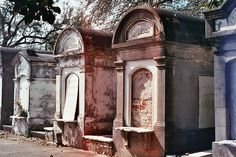 New Orleans burial crypts. all above ground, due to being below sea level. Sight seeing tours to grave yards, see the most wowing crypts.
