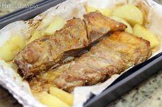 PANELATERAPIA - Blog de Culinária, Gastronomia e Receitas: Costelinha de Porco Assada