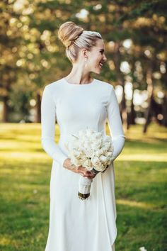 Long Sleeve Rosa Clara Wedding Dress
