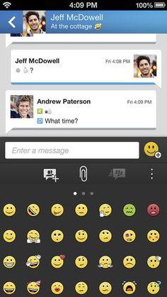 Blackberry cancela descarga de BBM para iOS y explica el problema con BBM para Android