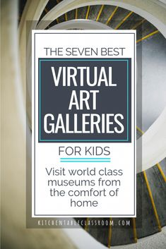 Art Museums with Virtual Tours Best Gallery Tours from Home is part of home Art Projects - Expose your child to world class art without leaving home by touring these art museums with virtual tours Visit seven kid friendly virtual art galleries! Virtual Art, Virtual Tour, Middle School Art, Art School, Art Doodle, Virtual Museum Tours, Classe D'art, Virtual Field Trips, Art Curriculum