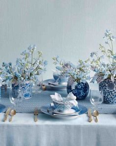 14 Blue Color Palette Ideas for Your Big Day | Martha Stewart Weddings