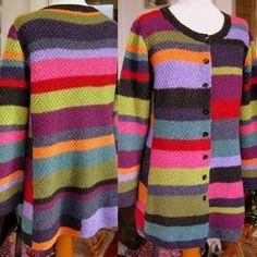 "TUK TUK from Annette Danielsen's book ""Østen for solen"" (Danish for East of the Sun). Knitting Projects, Knitting Patterns, Intarsia Knitting, Lace Wrap, Knit Or Crochet, Knitted Shawls, Knitwear, Sweaters For Women, Groomsmen"