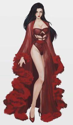 Fantasy Art Women, Dark Fantasy Art, Fantasy Girl, Female Character Design, Character Design Inspiration, Character Art, Character Concept, Digital Art Girl, Image Manga