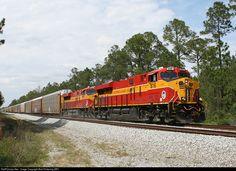 RailPictures.Net Photo: FEC 816 Florida East Coast Railroad (FEC) GE ES44C4 at Bunnell, Florida by Bob Pickering (BP)