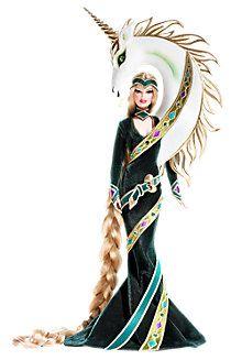 Lady of the Unicorns™ Barbie® Doll by Bob Mackie
