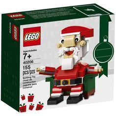 LEGO 40206 Christmas Seasonal Holiday Santa Claus for sale online Lego Christmas Gifts, Lego Christmas Ornaments, Christmas Stuff, Xmas Gifts, Christmas Holiday, Christmas Ideas, Lego Building Sets, Lego Sets, Lego Knights Kingdom