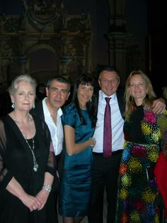 PHOTOGRAPHS DURING THE GLAMOUR OF ITALIAN FASHION - VICTORIA & ALBERT MUSEUM - LONDON Michele Miglionico, Julie Ann Morrison (Managing Director Bulgari UK & Australia), Jean Christophe Babin (CEO Bulgari), Karen Lawrence Terracciano (Italian Ambassador's wife)