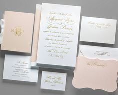 Kleinfeld Paper || Unconditionally Wedding Invitation Suite. Customize yours with Paper Passionista.
