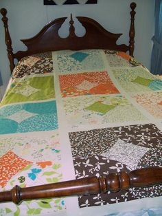 10 minute block quilt:  I just watched the tutorial on YouTube and this is a great concept.  I'm definitely going to be doing this.