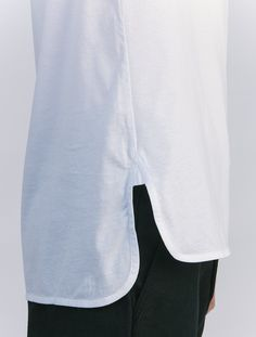 Lemaire White Liquette Tee - Tops & T-shirts - Men