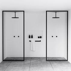 """Gefällt 15.6 Tsd. Mal, 176 Kommentare - Architecture & Design (@architectanddesign) auf Instagram: """"Minimalist Bathrooms designed by @nichba_design #Aalborg #Denmark #architectanddesign"""""""