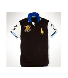 8722c55e2f5 Polo Ralph Lauren Black Watch Custom-Fit Color-Blocked Rugby Polo Shirt  Size XL  PoloRalphLauren  PoloRugby