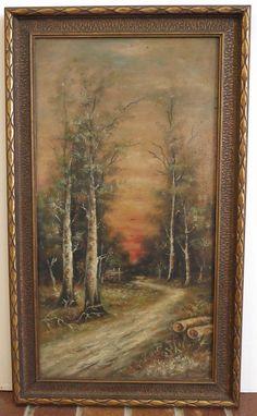 Art Pure White Vintage Decor Frame 13x17 Nice Impression Bridge Print On Canvas W