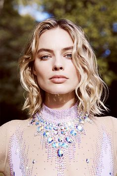 Margot Robbie photographed by Max Doyle for Harper's Bazaar Australia, March 2018.