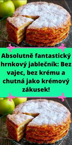 Sweet Recipes, New Recipes, Cooking Recipes, Favorite Recipes, Vegan Dessert Recipes, Delicious Desserts, Czech Recipes, Ethnic Recipes, Pound Cake