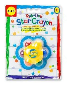 Alex hračka do vody Rub A Dub Star Crayon