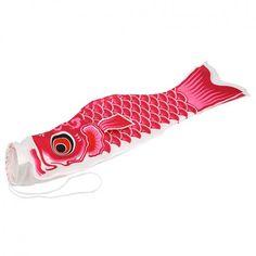Koi nobori carp streamer used in Japan to celebrate kodomo no hi or childrens day