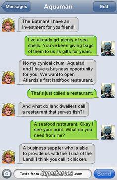Aqua BusinessMan   Texts From Superheroes