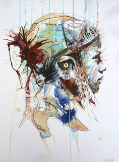Origin (Giclee Signed Limited Edition of 25) by Carne Griffiths