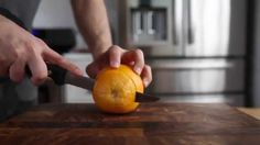The right way to peel an orange Low Salt Recipes, Candied Orange Peel, Desert Recipes, Life, Youtube, Deserts, Fitness, Orange, Shape
