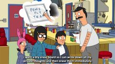 She has potential to win 1st place in the 5th grade invention fair for her thought process. | 14 Reasons Why Tina Belcher Is The Most Sexually Positive TV Character