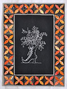 Which Witches Boot quilt by Quilternity's Place. Pattern by Crabapple Hill.