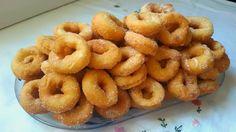 Anna recetas fáciles: Rosquillas de anís caseras Bakery Recipes, Donut Recipes, Sweets Recipes, Mexican Food Recipes, Bean Cakes, Latin Food, Mini Foods, Recipe For Mom, Vegan Desserts
