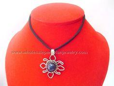 Purple Agate Stone Alpaca Silver Sun Pendant Necklacehttp://www.wholesaleperuvianjewelry.com