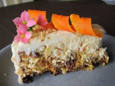 Ive made this for Easter the past few years and everyone loves it. Its like carrot cake with a lot of cream cheesy flavor.