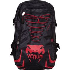 "VENUM ""CHALLENGER PRO"" BACKPACK - RED/BLACK"