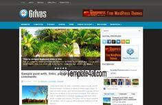 Wordpress Themes - Business Wordpress Template #wordpress #wordpressthemes #business