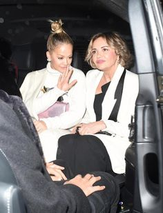 Welcome to Oghenemaga Otewu's Blog: Singer Rita Ora pictured with her age defying mum