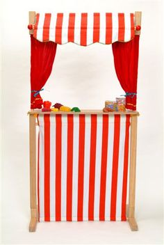 Ideas for puppet theater. . .
