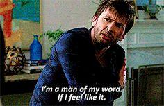 """I'm a man of my word. If I feel like it"" - Kilgrave #JessicaJones"