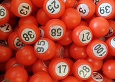 ClubKing Ltd Raffle Balls, 18mm, 1 to 100 #bingo #game #night