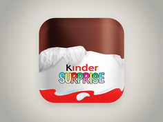 UI Icone Kinder Surprise by John Khester
