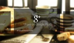 """Today in History"" on Google Glass on Behance"