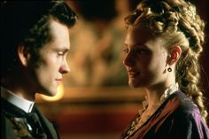 Daniel (Hugh Dancy), and Gwendolen (Romola Garai) in Daniel Deronda for a classic romantic moment of the week: Photo: BBC